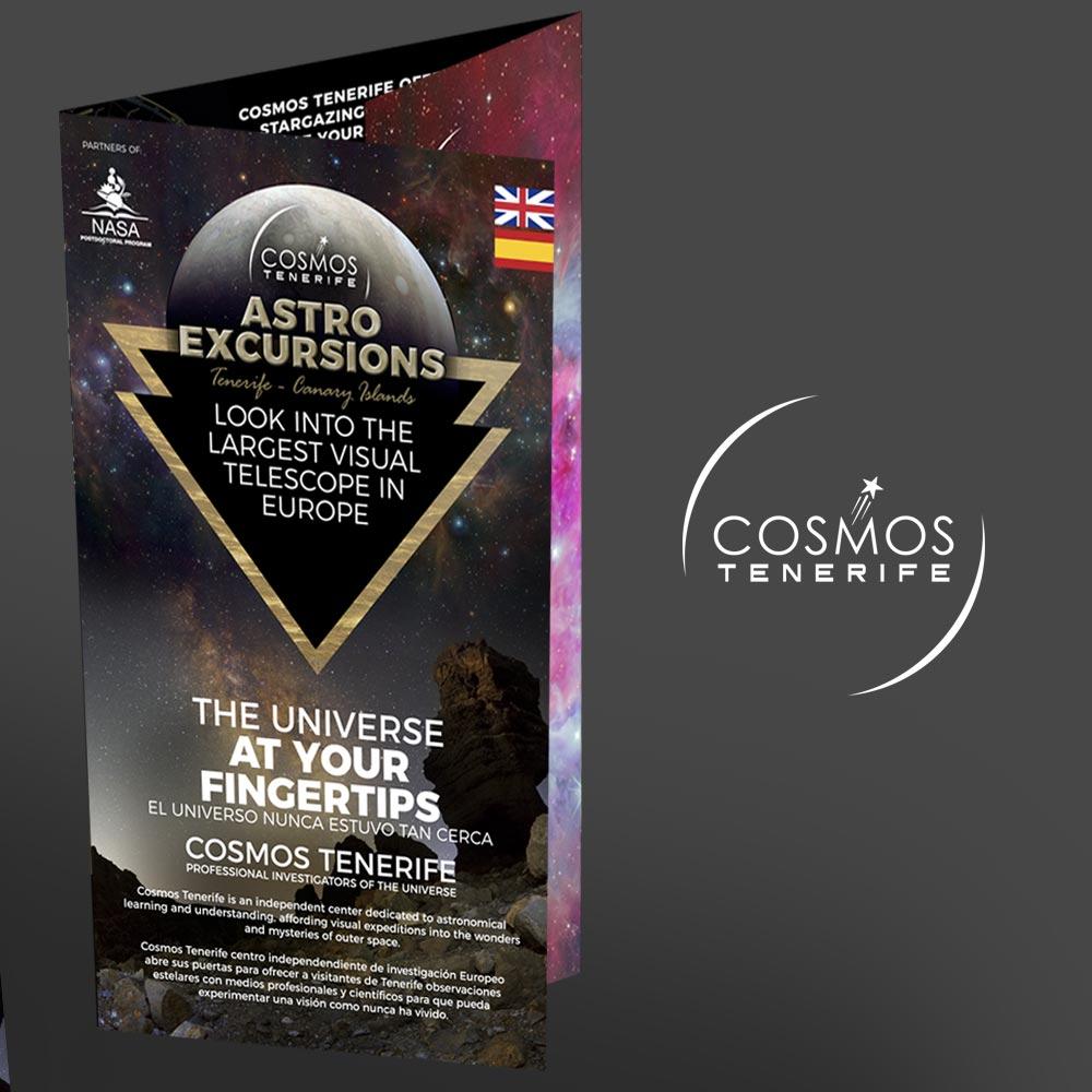 Cosmos Tenerife Astro Tour Excurssions - Folleto