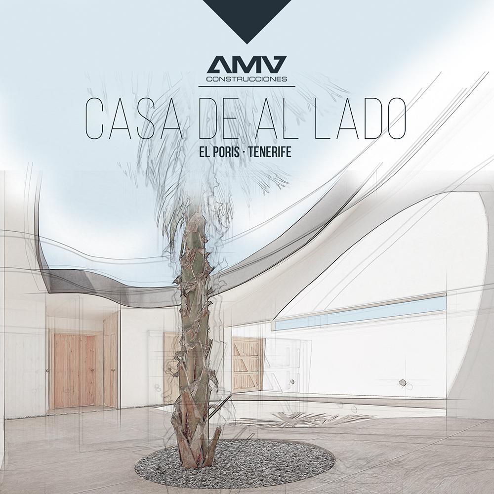 Ilustración para Arquitectura - AMV Construcciones