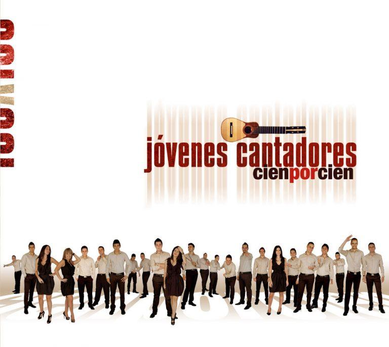 Rodrigo-Cornejo-Diseño-Imagen-Comunicacion-Arte-y-Cultura-Pintura-Grabado-Ilustracion-Jóvenes-Cantadores-Cien-por-cien-Cd-Cover-01