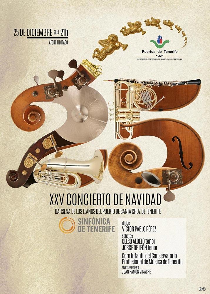Rodrigo-Cornejo-Diseño-Imagen-Comunicacion-Arte-y-Cultura-Pintura-Grabado-Ilustracion-Concierto-de-Navidad-Puertos-de-Tenerife-Cartel-2019-00