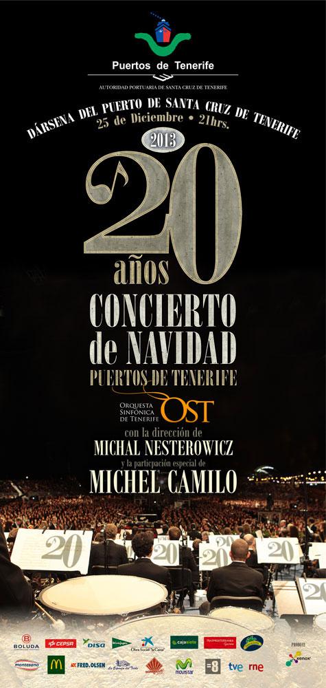Rodrigo-Cornejo-Diseño-Imagen-Comunicacion-Arte-y-Cultura-Pintura-Grabado-Ilustracion-Concierto-de-Navidad-Gospel-Sinfónico-Puertos-de-Tenerife-Cartel-2013
